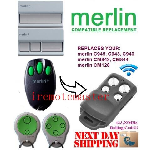 FOR Merlin C945 C943 C940 Merlin CM842 CM844 Merlin CM128 Remote Control Top Quality
