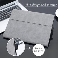 stand microsoft surface XMXCZKJ Luxury Flip Cover Case For Microsoft Surface Pro 4 5 3 Tablet Stand PU Leather Funda Smart Cover For Surface Pro4 Pro5 (2)