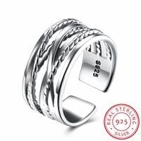 2017 Zeitlich begrenzte Frauen Trendy Partei Anillos Top Großhandel Modeschmuck Ring Name Fit Original 100% Sterling Ringe Retro
