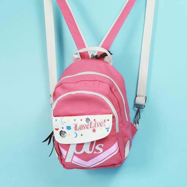4ecf4b2e4a Online Shop 2016 LOVE LIVE cartoon Canvas backpacks girls student school  backpack anime cartoon bag