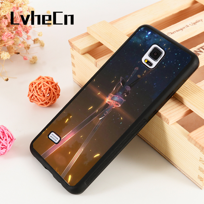 Fitted Cases Cellphones & Telecommunications 100% Quality Lvhecn S3 S4 S5 Phone Cover Cases For Samsung Galaxy S6 S7 S8 S9 Egde Plus Note 4 5 8 9 Sword Art Online Kirito Dual Swords Non-Ironing