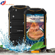 GEOTEL A1 IP67 Waterproof Shockproof 4.5″ Android 7.0 3400mAH Smartphone Android 7.0  8GB ROM 1GB RAM 8MP Camera Multi Language
