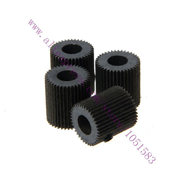 Free Shipping 3pcs/lot  Bore Steel Drive Gear 38 teeth sharp MaKerbot Extruder Feeder Steel Gear ID 5mm OD 10.8mm L12mm
