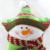 1 unids Novedad Estrella De Navidad Almohada Almohadas de Peluche Muñecas Juguetes de Peluche de Santa Claus Muñeco de Nieve Y Ciervos de Navidad Decoraciones