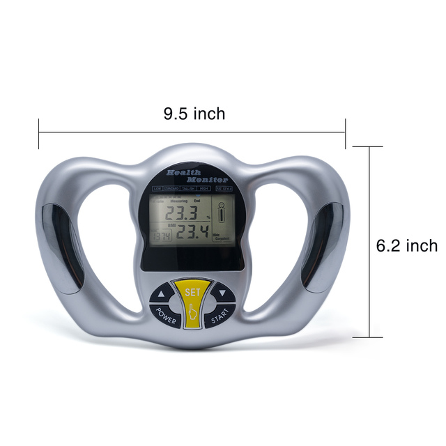 Body Health Monitor | Digital LCD Fat Analyzer