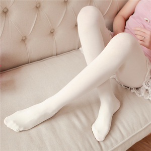 Image 3 - Spring And Autumn Casual Velvet Pantyhose Japanese Soft Sister Solid Color Thin Stockings High Waist Sexy Tight Long Stockings