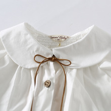Long-Sleeve Cotton Blouse