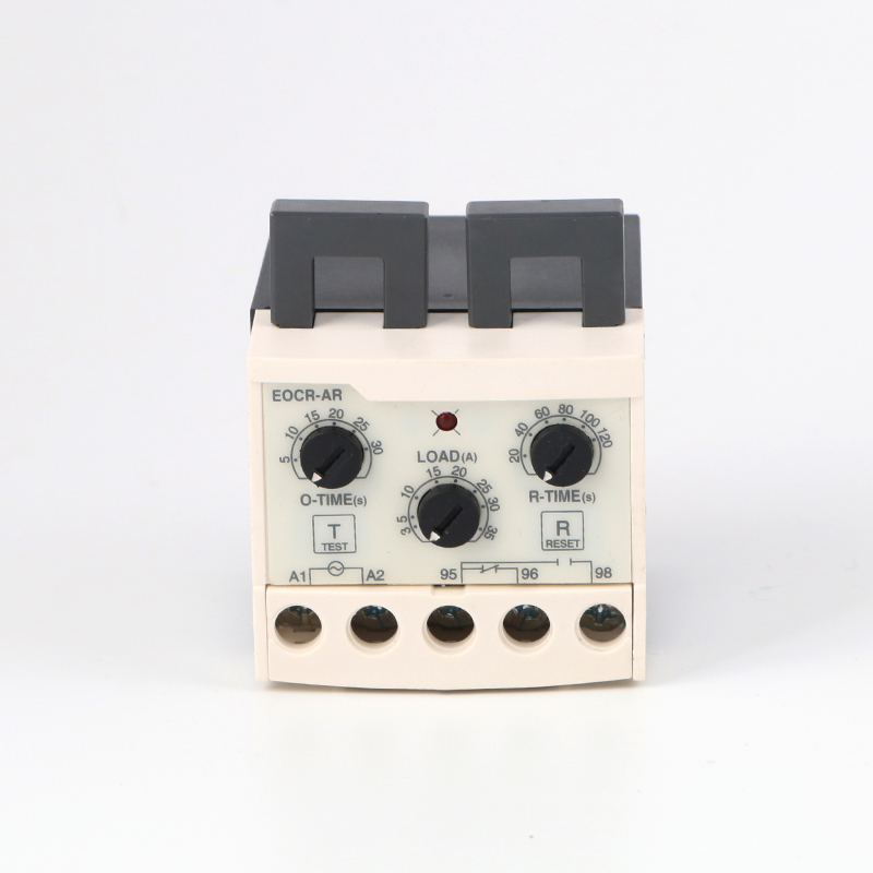 цена на Self-reset Intelligent Over Current Protection Relay EOCR-AR Motor Protector Thermal Overload Relay w Time Setting