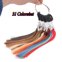 Human Hair Color Chart Extensions 31 Colors Hair Colour Chart Human Hair Color Ring Hair Extension