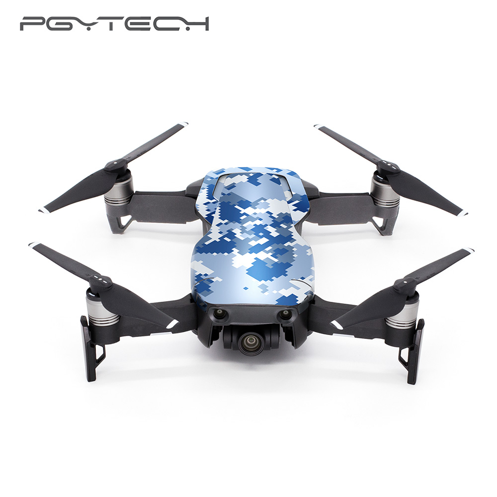 Pgytech Skin Stickers For Dji Mavic Air Body Decals Remote Control Protective Film Sticker For Mavic Air Accessories