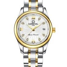 Carnival Luxury Brand Watch Women Japan Quartz clock Switzerland Women Watches Male Waterproof Military reloj hombre C8827L-3