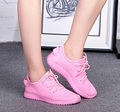 Zapatos de mujeres women's plus size leisure breathable shoes lady cool soft shoes female casual comfortable cloth shoes