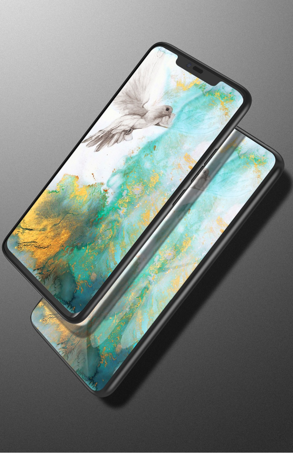 Image 5 - For Samsung Galaxy S10 Case UYFRATE Ultra Slim Smooth Marble Tempered Glass Cover Funda For Samsung Galaxy S10 S10 Plus S10e-in Fitted Cases from Cellphones & Telecommunications