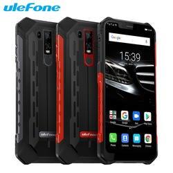 Ulefone Power 6E мобильный телефон 6,2 дюймов 4 Гб Оперативная память 64 Гб Встроенная память Helio P70 Octa Core Android 9,0 Dual SIM Беспроводной зарядки смартфона