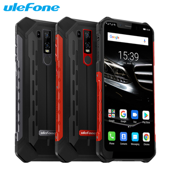 Перейти на Алиэкспресс и купить Ulefone Armor 6E смартфон с 6,2-дюймовым дисплеем, восьмиядерным процессором Helio P70, ОЗУ 4 Гб, ПЗУ 64 ГБ, Android 9,0