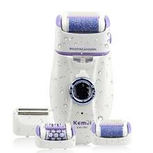 3в1 женский эпилятор, Электрический женский эпилятор для лица, Женская бритва, бикини, триммер для депиляции тела, ноги, перезаряжаемая депиляция