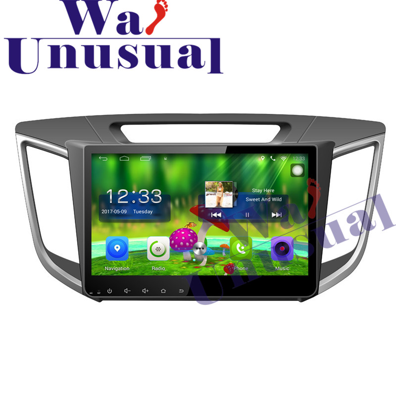 10.1 Inch Quad Core 16G Android 6.0 Auto GPS Navigation Radio Player For Hyundai IX25 2014 2016 with BT WIFI 3G HD 1024*600 Maps