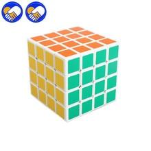Игрушка мечта 4x4x4 волшебный скорость головоломки лакокрасочного покрытия непоседы руки кубики Профессиональный обучения и Образовательные Классические игрушки кубики