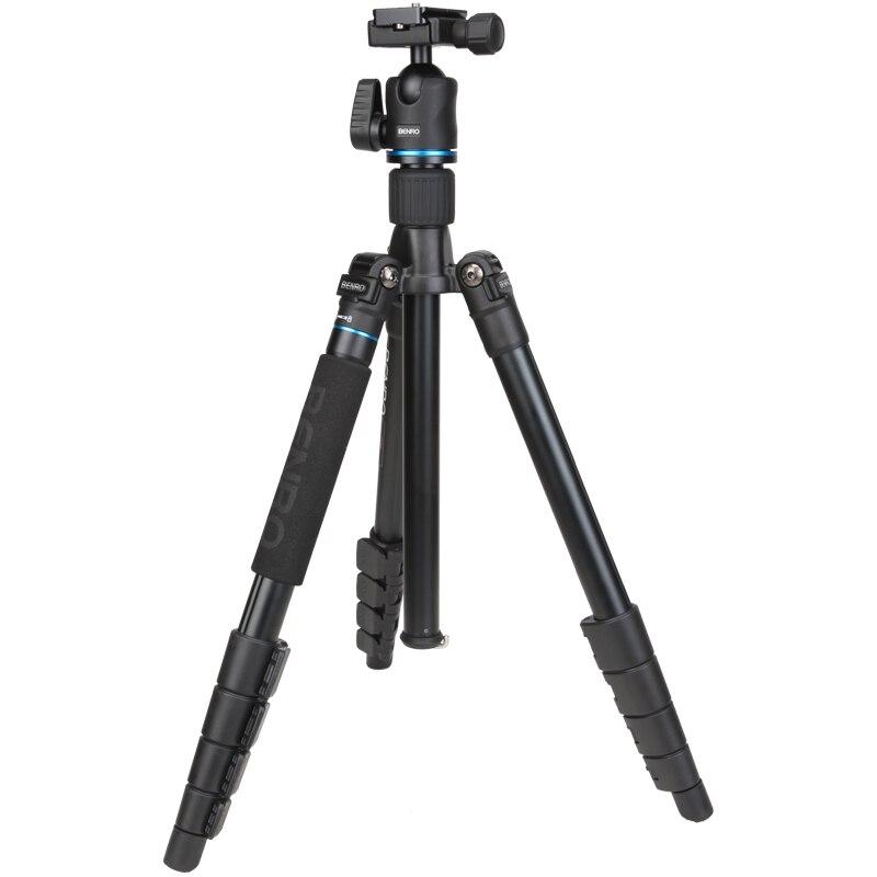Benro IT25 SLR Camera Tripod For SONY Canon Nikon Flexible Aluminium Alloy Tripod Portable Bracket Professional