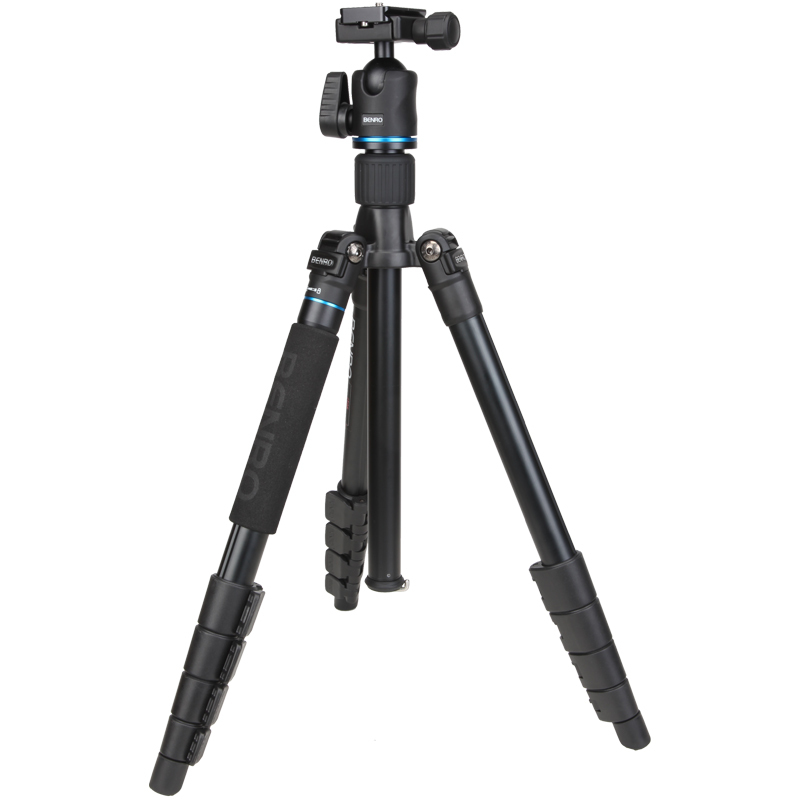 Benro IT25 SLR Camera Tripod For SONY Canon Nikon Flexible Aluminium Alloy Tripod Portable Bracket Professional Tripod Head Set benro aluminum tripod 3 8 super strong impact resistance horizontal axis camera tripod multifunctional alloy tripod ga169t