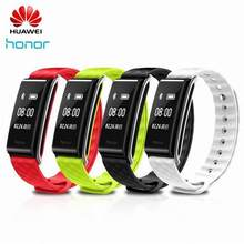 "En Stock Huawei Original Honor banda de Color A2 pulsera inteligente 0,96 ""pantalla OLED Monitor de ritmo cardíaco Mostrar mensaje final A IP67(China)"