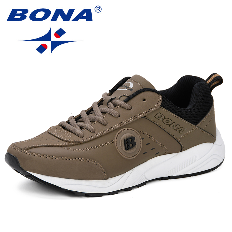Image 2 - BONA 2019 Spring Casual Shoes Men Breathable Shoes Tenis  Masculino Shoes Zapatos Hombre Sapatos Outdoor Shoes Sneakers Men  ComfyMens Casual Shoes