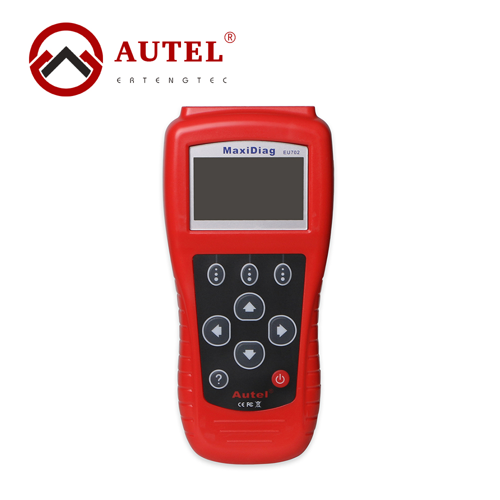 Autel Maxidiag EU702 Code Reader OBD2 OBDII & EOBD Scan Tool Fault Code Reader EU702 OBD2 Diagnostic Scanner Car Engine ABS ft232rl chip real elm327 v1 5 plastic obdii eobd canbus scanner automotive obd2 scan tool elm 327 v 1 5 usb diagnostic tool