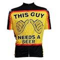 2016 горячие мужские рубашки t-shirt brand clothing велосипед на открытом воздухе фитнес Покемон пойти на открытом воздухе одежда Этот Парень Нуждается В Пиво