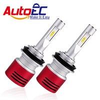 AutoEC 1 Set V5 Car LED Headlight H1 H3 H4 H7 H11 9005 HB3 9006 HB4