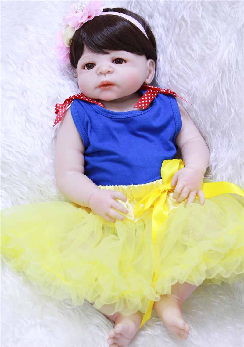 NPK 22 Full body silicone reborn baby dolls lovely girl bebes reborn bonecas for child gift toys dolls real alive bonecasNPK 22 Full body silicone reborn baby dolls lovely girl bebes reborn bonecas for child gift toys dolls real alive bonecas