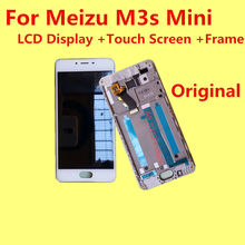 For Original Meizu M3s Mini Mobile Phone MT6750 LCD Display +Touch Screen +Frame+ Tools FOR M3s Mini PRO 5.0″  Give silicon case