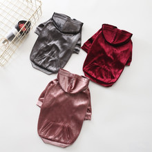 Autumn Winter Pet Dog Clothes for Dogs 3 Color Selectable Soft Warm Velvet Clothes Dog Hoodies for Cat Small Dogs hipidog sheep pattern coral velvet parkas pet dog pants autumn winter thicken warm jumpsuit for chihuahua small dogs cat clothes