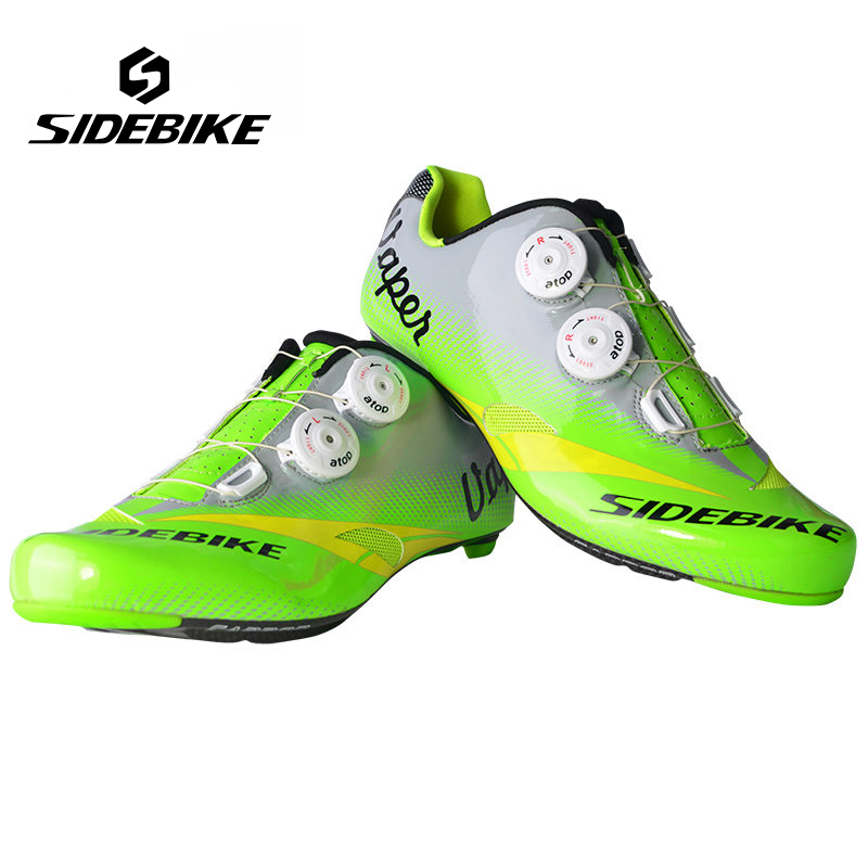 Sidebike Breathable Cycling Shoes Men Carbon Road Bike Shoes Professional Bicycle Shoes zapatillas ciclismo bicicleta