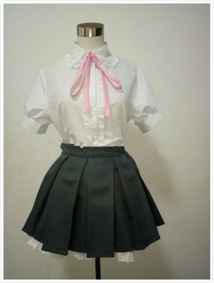 Anime Scum's Wish Noriko Kamomebata Cosplay Kuzu no Honkai Costume Custom Made