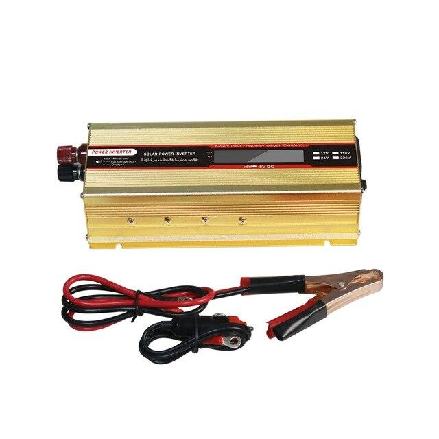 1000 W oder 2000 W Auto Inverter LCD Display 12 V zu 220 V Inverter 12 v 220 v Power inverter Konverter Tragbare USB Ladegerät