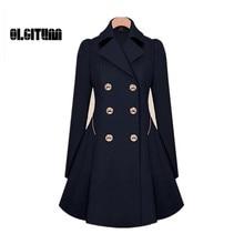 Trench Coat Womens Coat Classic waist was thin coat Windbreaker Women Trench  Female Long Sleeve Overcoat W054