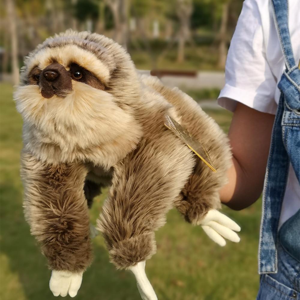 Marionnette à main pour animaux poupées de marionnettes en peluche paresseux Panda poupée à main pour bébé