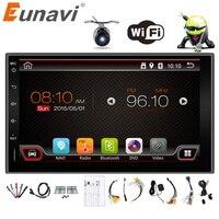 2017 Vendita Eunavi 2 Din Android 6.0 2din Auto Nuove Universale Radio Doppio Stereo di Navigazione Gps In Dash Pc Video 2g Ram (opzionale)