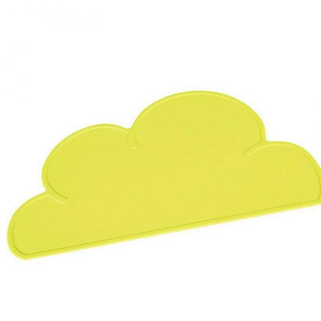 Cute Cloud Silicone Pet Feeding Mat