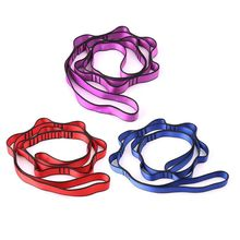 Chain-Rope Hammock Hanging-Strap Nylon Yoga with Loops Entertainment And Fitness Bandlet