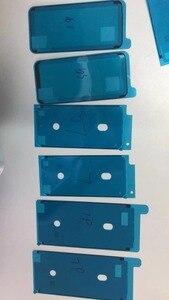 Image 2 - 100 Chiếc Keo Chống Nước Miếng Dán Kính Cường Lực iPhone XS Max X 6S 7 8 Plus Cắt Sẵn Keo Dán Mặt Trước nhà Ở Màn Hình Khung Liên Kết Băng