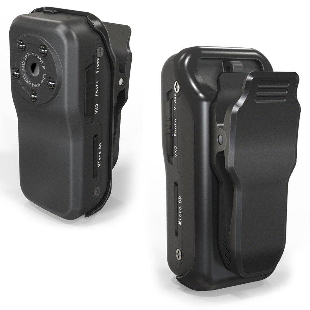 Alta Qualidade HD1920 * 1080 P Polegar DV Cam Esporte À Prova D' Água Câmera IR Night Vision Mini Camcorder F38 Carro DVR Gravador de vídeo