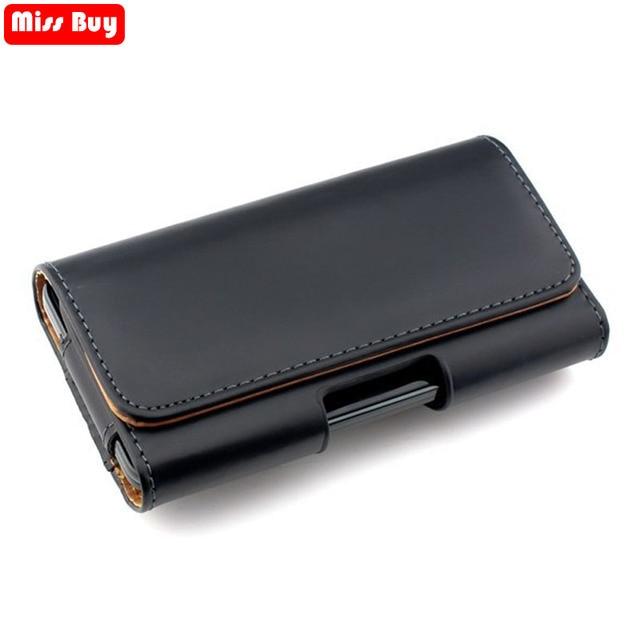 0365cdb2b29e Téléphone Pochette Clip Ceinture En Cuir de Couverture De Sac Pour Samsung  Galaxy S9 S8 Plus ...