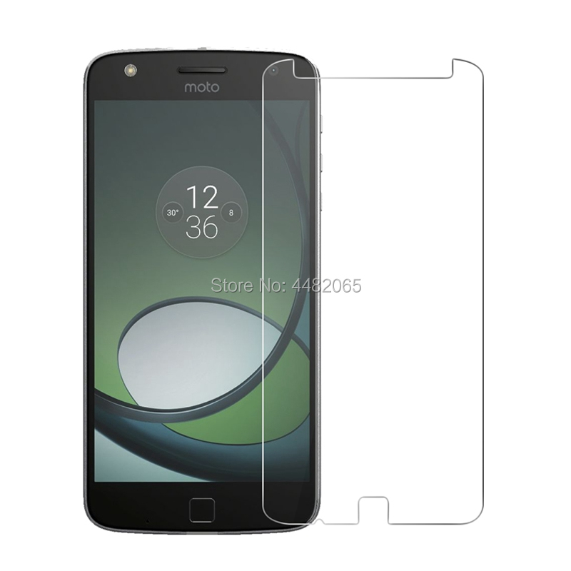 2.5D 0.26mm 9H Front Tempered Glass For Motorola MOTO Z Play <font><b>XT1635</b></font> 5.5 <font><b>Screen</b></font> Protector protective film For MOTO Z Play Glass image