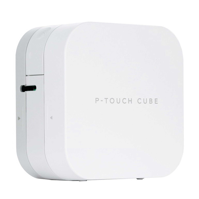 Brother PT P300BT P touch Cube label printer mobile phone Bluetooth mini label maker Brother suit