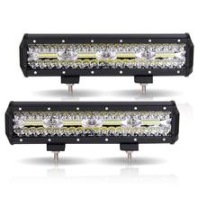 Work Light Bar LED 240W Led Car 12V 12inch combo offroad worklight barra led 4x4 car accessories Fog Lights Spot Flood Lamps