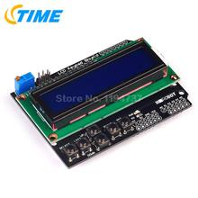 5PCS LCD Keypad Shield LCD1602 LCD 1602 Module Display For Arduino ATMEGA328 ATMEGA2560 Raspberry Pi UNO Blue Screen