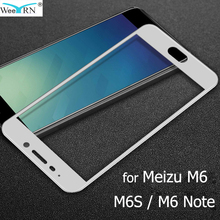 9H Hardness Tempered Glass for Meizu M6 Note M6S M6 Screen Protector 2.5D Glass Film Meizu M6 Note M6s Glass цена