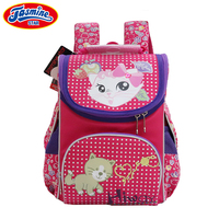 JASMINESTAR School Bags For Girls Orthopedic Cartoon School Backpacks Kids Large Capacity Butterfly Children School bags