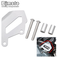 Bjmoto For BMW R1200GS ADV Motorcycle Rear Brake Caliper Cover Guard CAP Protector Motorcross For BMW